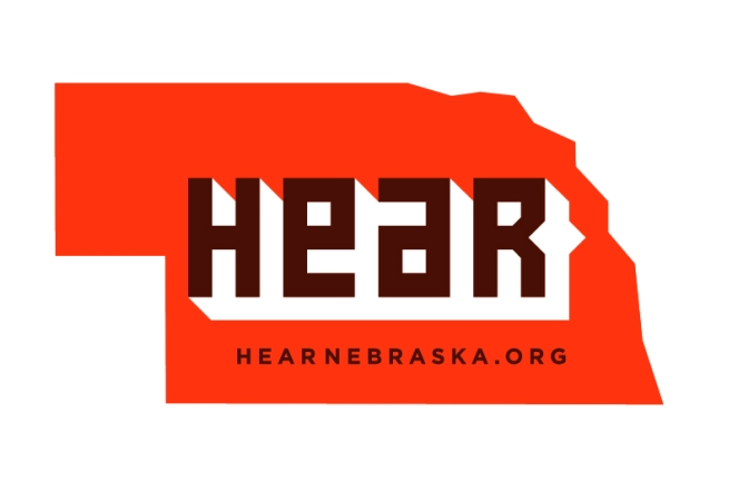 hear nebraska logo ideas 01