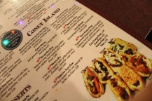 A variety of coney options at Dan's Coney. (Photo, Gabrielle Johnson)