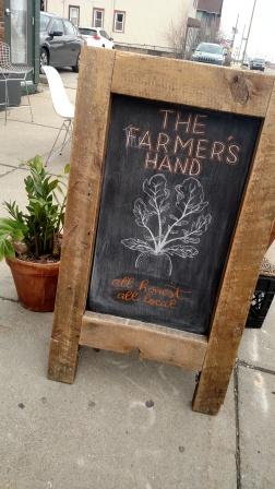 farmers hand