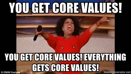 core values meme