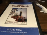 T & D Coney Grill's logo is simple, focusing on the restaurant name. Photo by Jamal Tyler.
