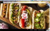 Sparty's Coney Island Restaurant website is simplistic, including directions to the restaurant and a photo gallery. Their website is the only site to feature a picture of their coney dog on the home page. Photo by Alexa Seeger.