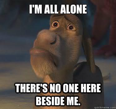 alone meme